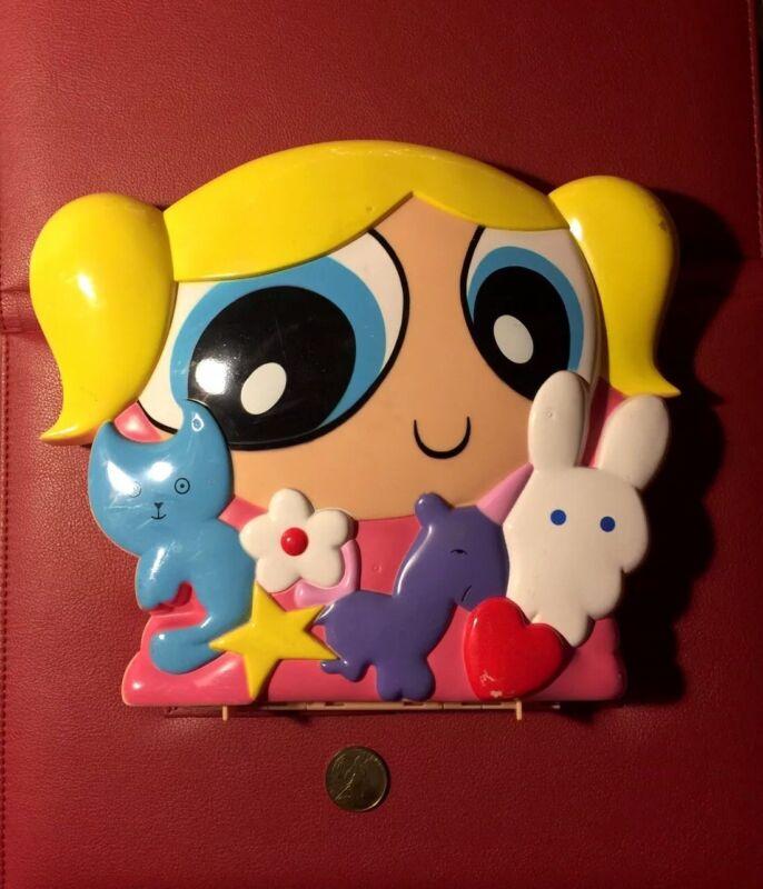 Vintage 1999 Powerpuff Girls Bubbles Case