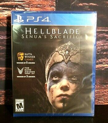 Hellblade Senua's Sacrifice - PS4 - Sony PlayStation 4 - Brand NEW - Sealed