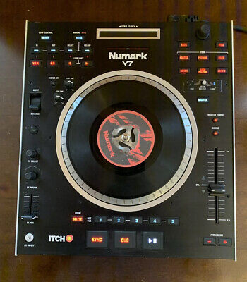 AS IS!! Numark V7 Serato DJ midi Controller Mixer, used for sale  Shipping to South Africa