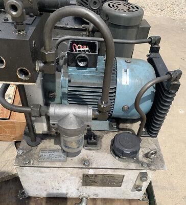 Used Showa Hydraulic Power Unit Hu2-9002 2.2kw 2530 Lmin 4.5mpa 20l Reservoir