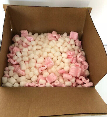 Mixed Packing Peanuts Pink White