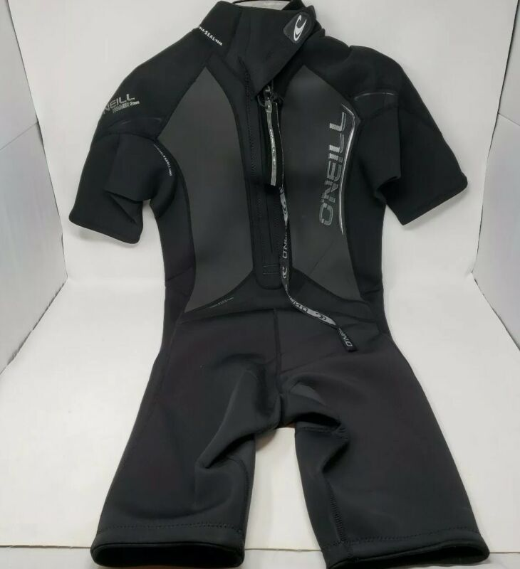 oneill wetsuit mens Large Hammer 3/2MM BACK ZIP  WETSUIT NWT