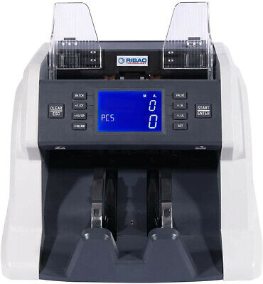 Ribao Bc-35 Bill Currency Counter Money Counter Uvmgir Counterfeit Detection