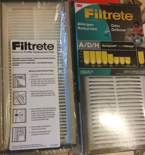 Filtrete Allergen Reduction Odor Defense Air Purifier Filter