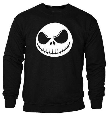 JACK SKELLINGTON NIGHTMARE BEFORE CHRISTMAS SWEATSHIRT UNISEX BEST (Best Quality Crewneck Sweatshirts)