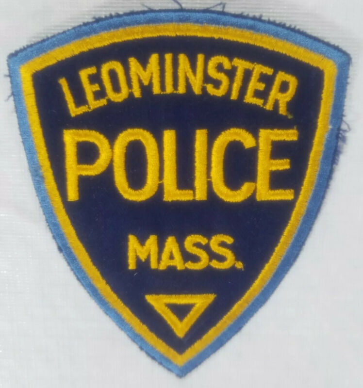 Leominster Massachusetts Police Department Patch