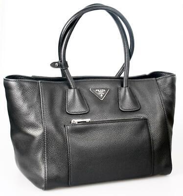 AUTH LUXURY PRADA SHOULDER BAG HANDBAG BN2795 BLACK NEW
