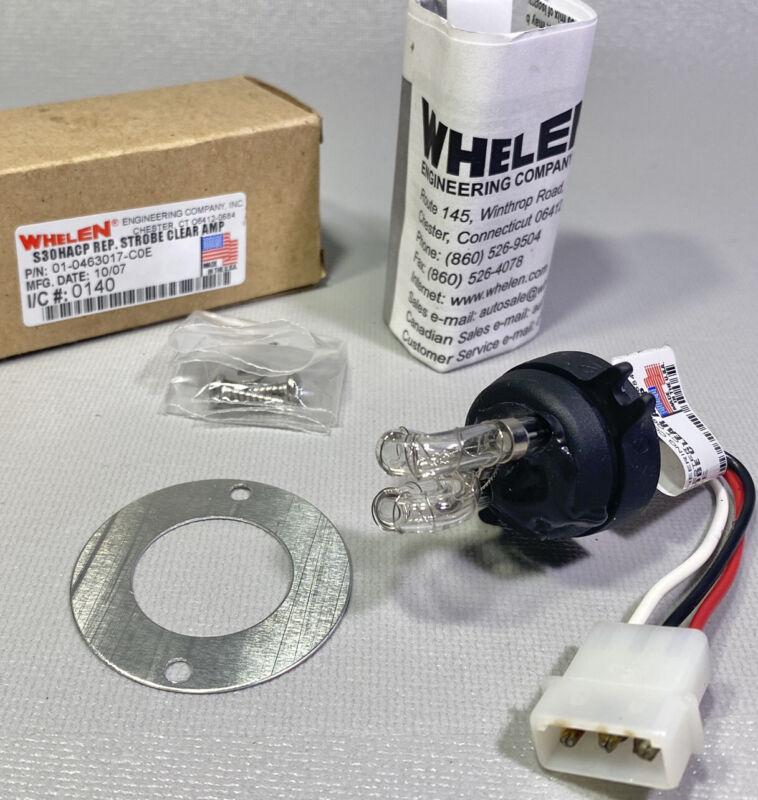 New Whelen S30HACP REP. STROBE CLEAR AMP   # 01-0463017-C0E Emergency Tube Bulb