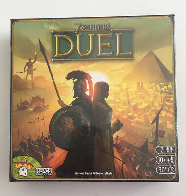 Repos Production SEVEN07ASM 7 Wonders: Duel Board Game Factory Sealed