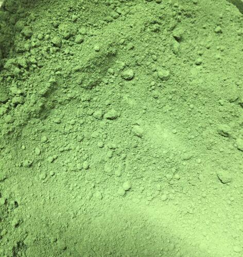GREEN CHROMIUM OXIDE POWDER ~ HIGH GRADE PIGMENT ~ 50 TO 500 GRAMS ~ CERAMICS