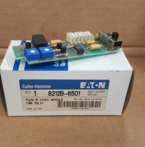 Eaton Cutler-Hammer 8212B6501 5212B-6501 Logic Module  Brand New In Box