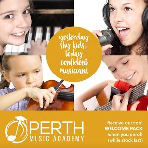 PERTH MUSIC ACADEMY.  LESSONS FOR PIANO l VIOLIN l KiddyKeys Willetton Canning Area Preview
