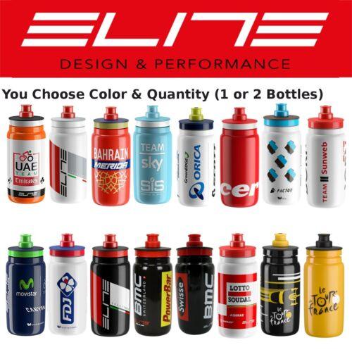 Elite Fly Team 550ml Small Water Bottle BMC Sky Lotto Movistar FDJ Cervelo TDF