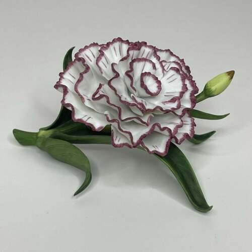 Lenox Carnation Flower Fine Porcelain 1989