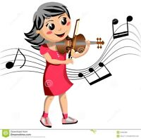 Beginner violin lessons in New Maryland