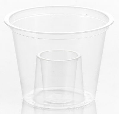 50 x Strong Reusable Jagerbomb Glasses Plastic Bomb Shots [5055202124240]