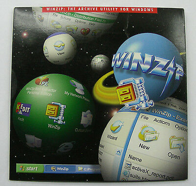 Genuine Winzip 8 1 Software Retail Sealed Package