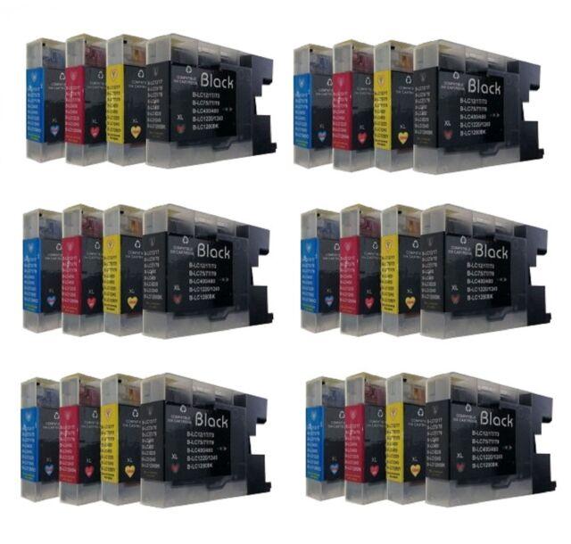 24 for Brother MFC J825DW,MFC-J6510DW MFC-J6710DE MFC-J5910DW DCP-J525W DCP-J725
