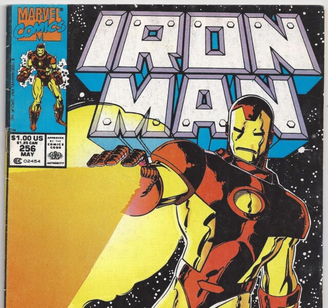 Marvel Comics IRON MAN #256 Iron Man in SPACE from May 1990 in VG+ condition NS