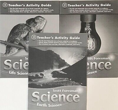 5th Grade 5 Scott Foresman Science Teachers Activity Guide Life Earth Physical