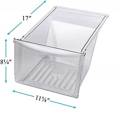 Crisper Drawer Compatible with Frigidaire Refrigerator 240337103 PS429854