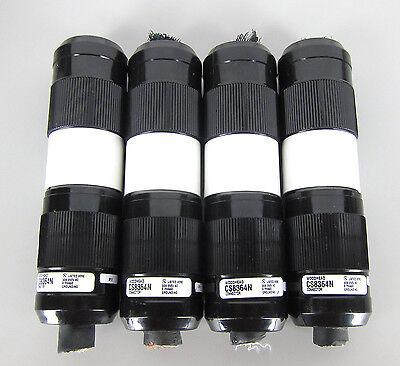 Woodhead Marinco 3 Prong 250v 50a 3-phase Twist Lock Male Female Plugs Qty.4