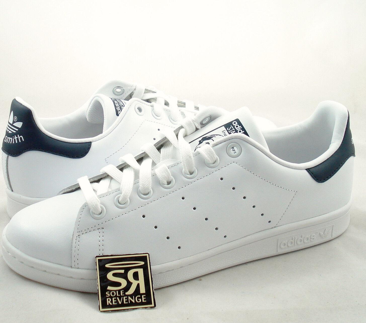 New adidas Originals Mens Stan Smith Shoes Running White/New Navy M20325 Tennis