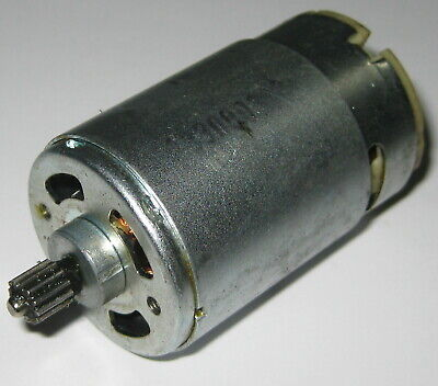 24 V - 1800 Rpm - Slow Speed Electric Dc Motor W 12t Steel Gear - High Torque