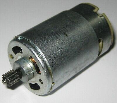 24 V - 1800 Rpm - Slow Speed Electric Dc Motor W 12t Steel Gear - High Torque