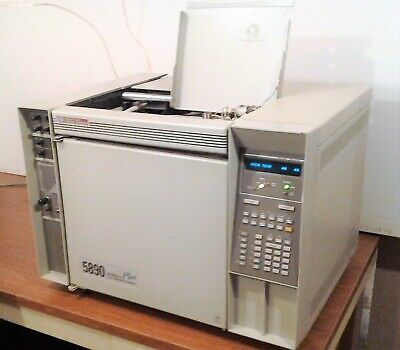 Agilent Hp 5890 Series Ii Gc With Chemstation Data System. Fid Tcd Epc Tested.