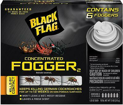 Best Indoor Cockroach Killer Roach Spray Fogger Ant Spider Insect Bug Bomb 6