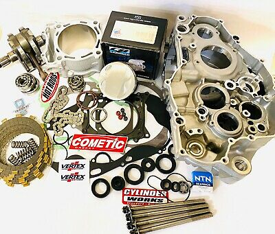 03-13 YZ250F YZ 250F Cases Complete Bottom End Top Rebuild Motor Engine Kit