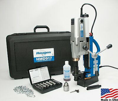 Hougen Hmd917 115-volt Swivel Base Magnetic Drill Fabricators Kit