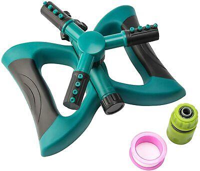 SET of 100,  Automatic 360° Rotating Lawn/Garden/Yard/Water Sprinkler, Kids Fun