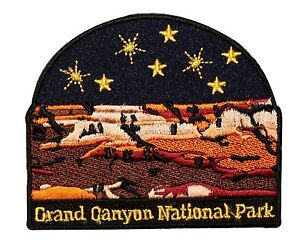 Grand Canyon National Park Travel Souvenir Embroidered Iron On Applique Patch