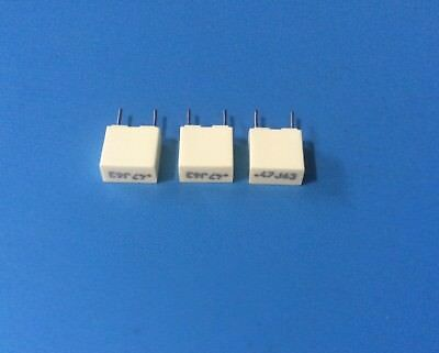 3x R82dc3470aa60j Arcotronics Capacitor 0.47uf 63vdc 5 Film Radial .47j63