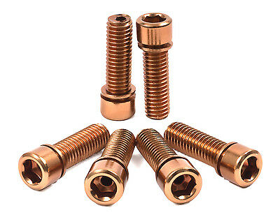 SHADOW CONSPIRACY HOLLOW STEM BOLTS BMX BICYCLE METRIC SUBROSA SE HARO COPPER (Bmx Bicycle Stem)