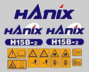 HANIX-H15B-DIGGER-COMPLETE-DECAL-STICKER-SET-WITH-SAFETY-WARNING-DECALS