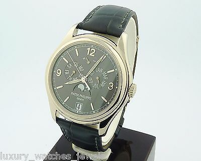 PATEK PHILIPPE ANNUAL CALENDAR 5146G-010 18K WHITE GOLD COMPLICATED WATCH