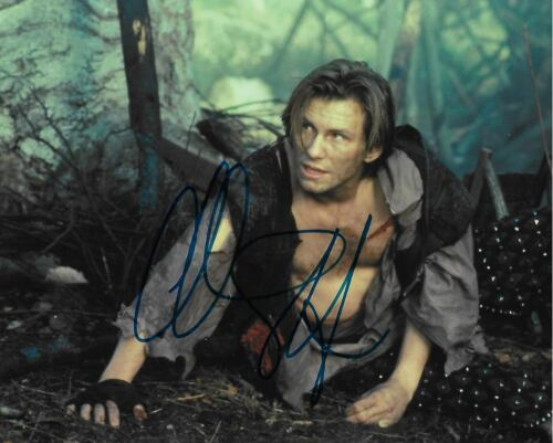 Christian Slater autographed Mr. Robot Robin Hood Actor Movies PROOF COA LOOK!
