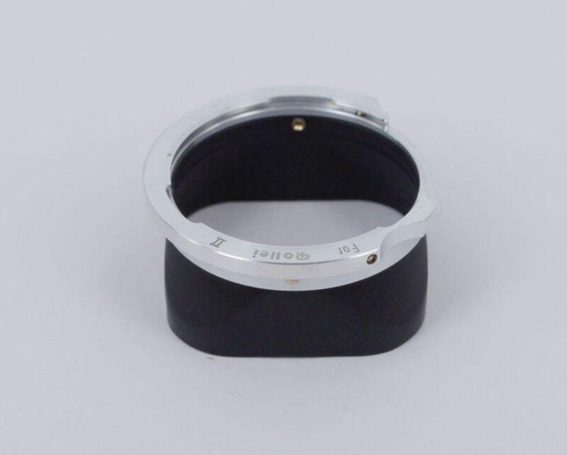 Metal Lens Hood for Rollei Rolleiflex TLR 75mm 3.5D 3.5E Bayonet-2 II B2 camera
