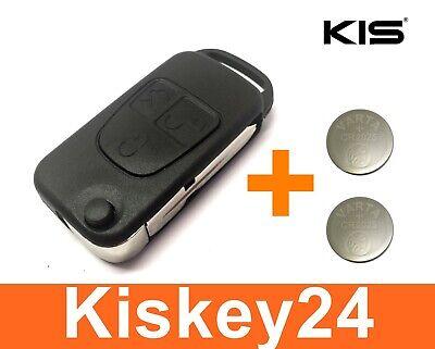 3Tasten Ersatz Klappschlüssel Gehäuse für Mercedes Benz SL R129 + 2x Batterie