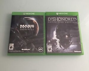 2 Xbox One Games for Sale!!!