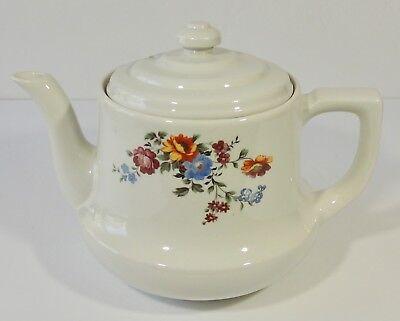 Vintage Hall China Enterprise Aluminum Co Drip O Lator Wild Flower Coffee Teapot