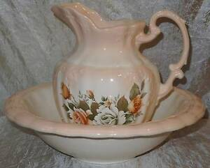Arnell Bringelly Ceramics Wash Jug And Bowl Basin South Windsor Hawkesbury Area Preview