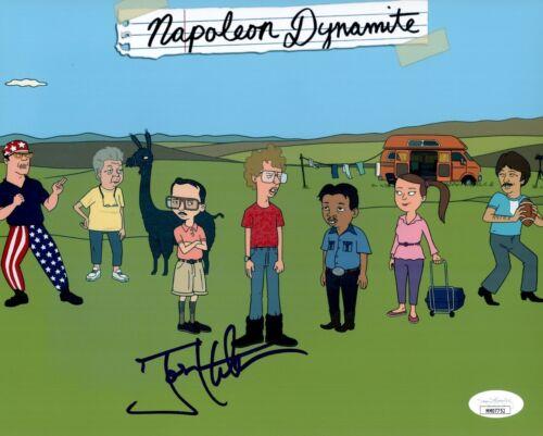 JON HEDER Signed NAPOLEON DYNAMITE 8x10 Photo Autograph JSA COA