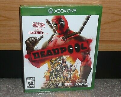 XBOX ONE - MARVEL DEADPOOL VIDEOGAME (Brand NEW Sealed) NTSC CDN Seller FAST