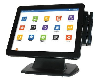 Complete SAM4POS Restaurant SAM4S Android Touch Screen Cash Register POS System, used for sale  Hebron