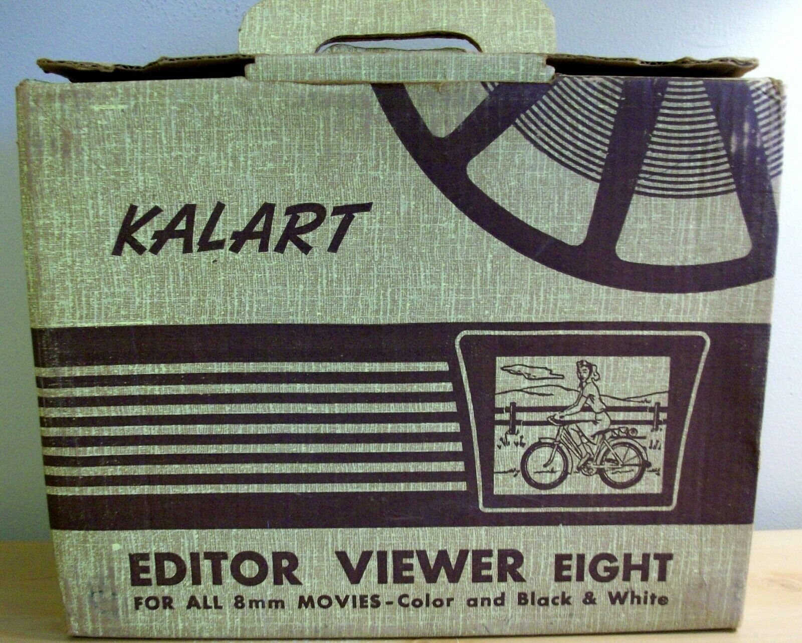 Vintage Kalart Editor Viewer Eight For All 8mm Movies B W And Color Bakelite - $19.95