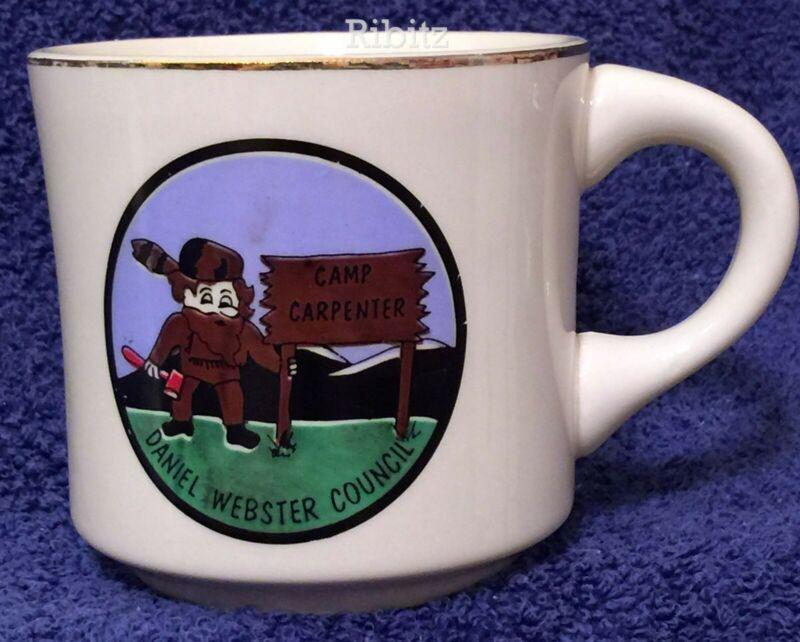 BSA Mug Daniel Webster Council - CAMP CARPENTER -